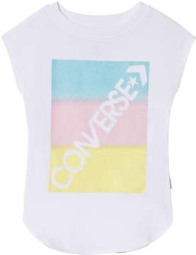 Converse White Gradient Logo T-Shirt