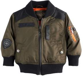 Urban Republic Baby Boy Twill Bomber Lightweight Jacket