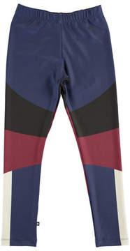 Molo Nikia Sporty Colorblock Leggings, Size 4-14