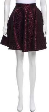 Giamba Metallic Knee-Length Skirt