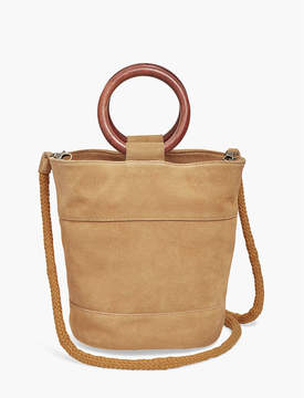 Lucky Brand CROSSBODY WITH WOOD HANDLES