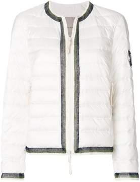 Ermanno Scervino slim-fit padded jacket