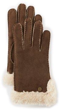 UGG Sheepskin Slim Side-Vent Gloves