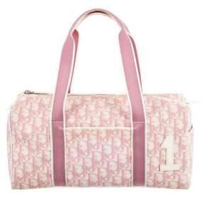 Christian Dior Oblique Trotter Duffel Bag