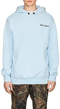 Palm Angels Men's Logo Cotton French Terry Hoodie