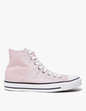 Converse Hi All Star in Arctic Pink/Whi