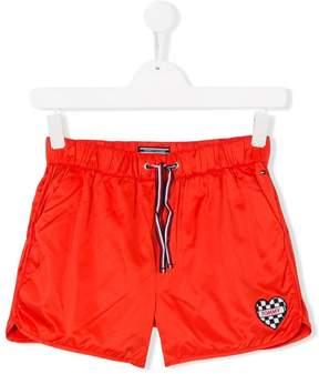 Tommy Hilfiger Junior TEEN logo patch shorts