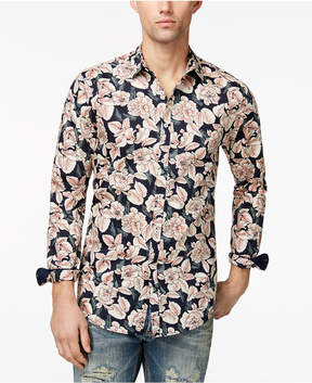 INC International Concepts I.n.c. Men's Floral Print Shirt, Created for Macy's
