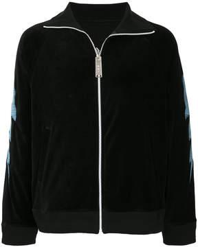 Miharayasuhiro Interface zipped sweatshirt