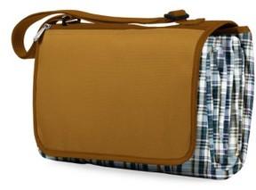 Picnic Time Blanket Tote - Brown