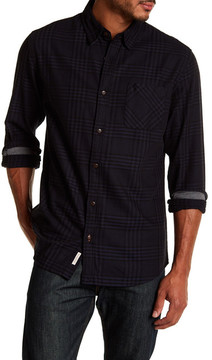Weatherproof Plaid Twill Regular Fit Shirt