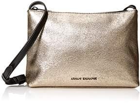 Armani Exchange A X Small Crossbody Metallic Bag