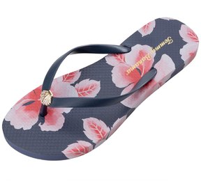 Tommy Bahama Women's Whykiki Floating Hibiscus Flip Flop 8141233
