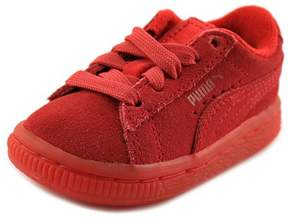 Puma Suede Iced Sneaker, 4, Red