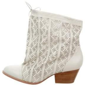 Vivienne Westwood Camilla Laser Cut Ankle Boots