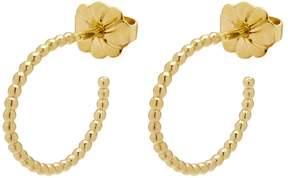 Myia Bonner Gold Mini Ball Hoop Earrings