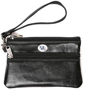 NCAA Kentucky Wildcats Leather Wristlet