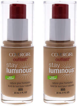 Cover Girl Soft Honey Outlast Stay Luminous Foundation - Set of Two