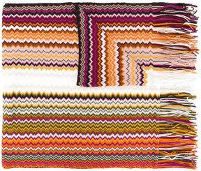 M Missoni chevron knit scarf
