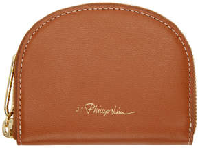 3.1 Phillip Lim Brown Hudson Wallet