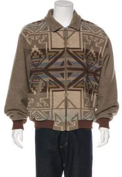 Pendleton Printed Wool Jacket