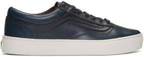 Vans Navy Horween Edition Old Skool Cup LX Sneakers