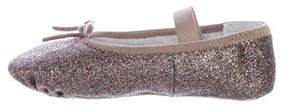 Bloch Girls' Glitter Ballet Slippers