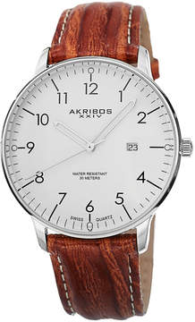 Akribos XXIV Men's Swiss Quartz Watch