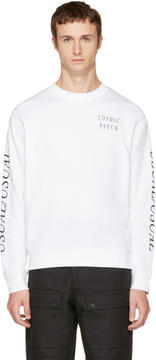 McQ White Usual-Usual Sweatshirt