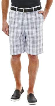 Haggar Men's Cool 18® Plaid Performance Shorts