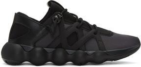 Y-3 Black Kyujo Low Sneakers