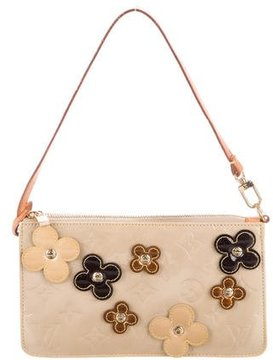 Louis Vuitton Vernis Lexington Fleurs Pochette - BROWN - STYLE