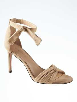 Banana Republic Ankle-Bow High-Heel Sandal