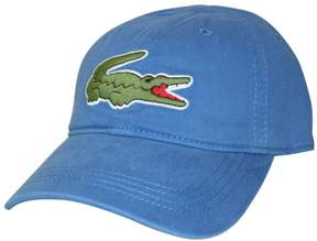 Lacoste Men's Gabardine Cap with Large Crocodile