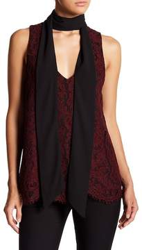 Fifteen-Twenty Fifteen Twenty Lace Necktie Top
