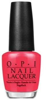 OPI Nail Lacquer Nail Polish, Red My Fortune Cookie.