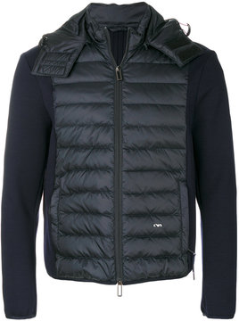 Emporio Armani padded panel jacket