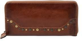 Frye Women's Leather Western Zip-Around Wallet