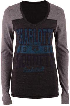 5th & Ocean Women's Charlotte Hornets Dunk Long-Sleeve T-Shirt