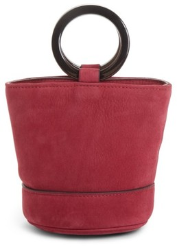 Simon Miller Mini Bonsai Nubuck Bucket Bag - Pink