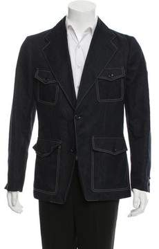 Louis Vuitton Silk & Linen-Blend Sport Coat