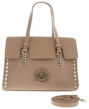 Versace EE1VRBBI6 Light Brown Shoulder Bag W/ detachable strap