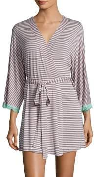 Honeydew Intimates Women's All American Striped Robe