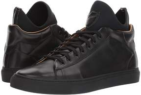 a. testoni Mid Cut Sneaker Men's Lace up casual Shoes