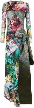 A.F.Vandevorst floral gown