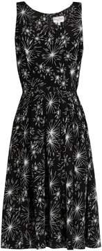 DAY Birger et Mikkelsen HVN Jordan firework-print sleeveless dress