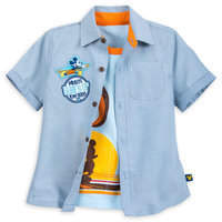 Disney Mickey Mouse ''Surf'' Woven Shirt Set for Boys