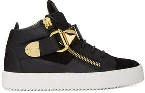 Giuseppe Zanotti SSENSE Exclusive Black May London Donna High-Top Sneakers