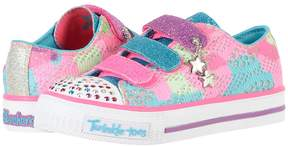 Skechers Twinkle Toes - Shuffles 10760L Lights Girl's Shoes