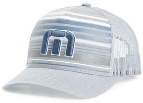 Travis Mathew Men's Kubiak Snapback Trucker Hat - Grey